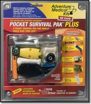 Adventure Medical Kits Pocket Survival Pak (tm) PLUS by Doug Ritter