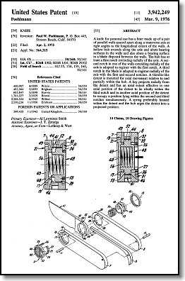 Axial Locking Mechanism Patent