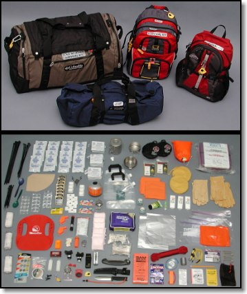 Custom Assembled Survival Paks