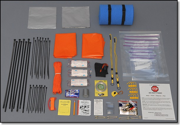 Miscellaneous and Multi-Purpose Group - Doug Ritter Ultimate 2-Person Aviator Survival Pak