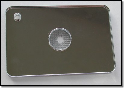 Rescue Flash (tm)  Signal Mirror