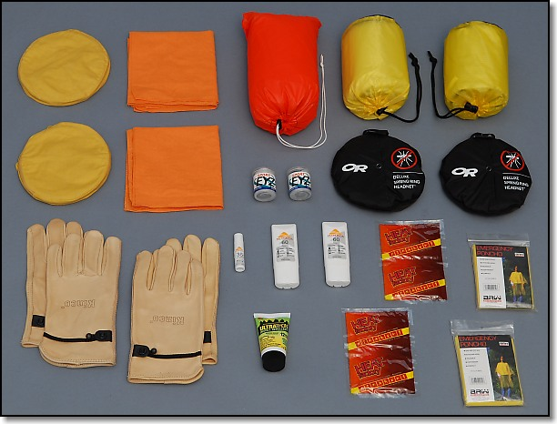 Shelter and Personal Protection Group - Doug Ritter Ultimate Aviator 2-Person Survival Pak