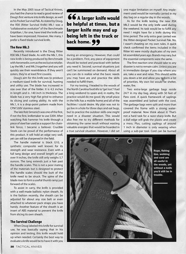 Tactical Knives March 2007 page 38
