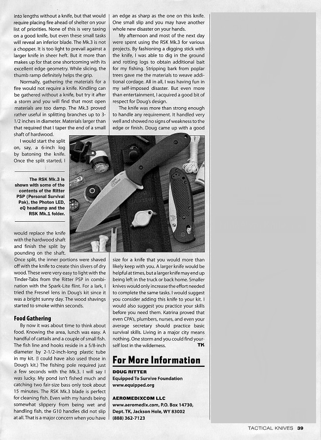 Tactical Knives March 2007 page 39