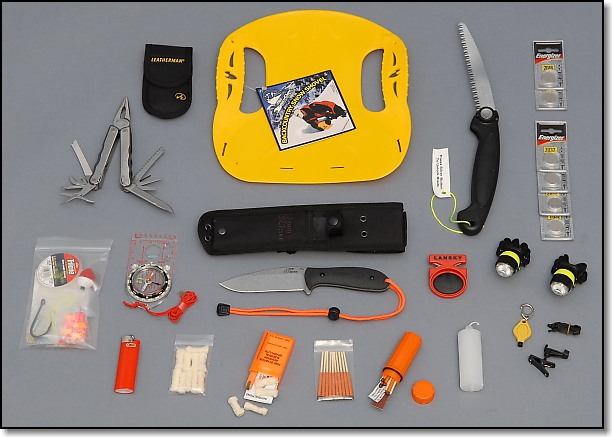 Tools and Emergency Devices Group - Doug Ritter Ultimate 2-Person Aviator Survival Pak