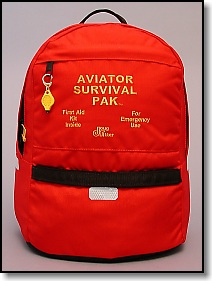 Doug Ritter designed Pack for Aviator Survival Paks
